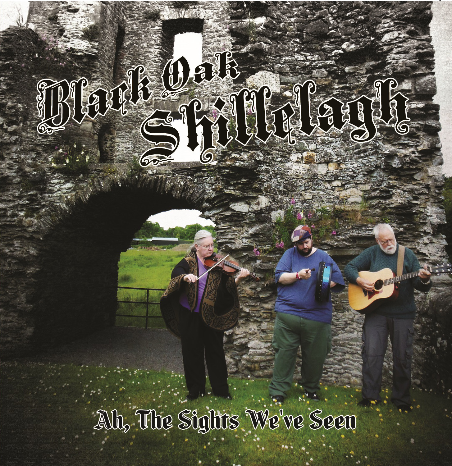 Front cover of Ah, The Sights We've Seen CD